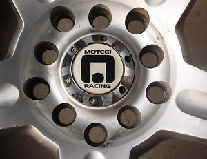 Set of 4 Motegi Racing Wheels and Tires