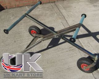 Kart 3 Wheel Trolley with Pneumatic Wheels Small Usage High Quality