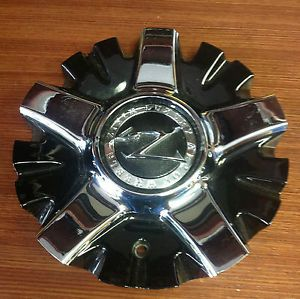 Zinik Z26 Aftermarket Black Center Cap Chrome Insert Z26 2295 Cap LG0708 91 SK15