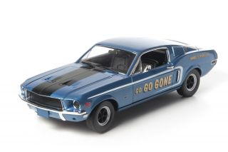 Greenlight 1968 Ford Mustang GT Fastback Diecast Model Car 1 18 12844 Go Go Gone