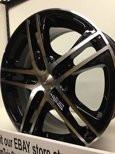 16 inch Verde Protocol Black Wheels Rims Honda Civic Accord Fit Insight 4x100