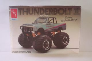 Chevy Blazer 4x4 Thunderbolt ll 6931 Monster Truck SEALED VHTF Model Kit