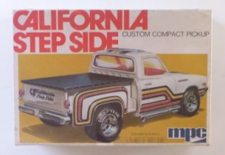 California Custom Datsun Pickup Truck MPC 1 25 SEALED Model Kit VHTF Vtg