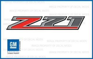 2 2014 Z71 Decals F Stickers Parts Chevy Silverado GMC Sierra Truck Bed 4x4