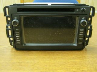 07 08 09 10 Chevy Silverado Avalanche GMC Sierra CD Navigation Unit