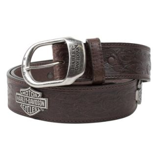 Harley Davidson Brotherhood Leather Belt