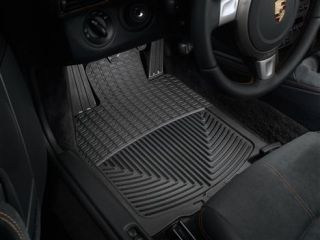 Weathertech® All Weather Floor Mats Porsche® Boxster 2005 2014 Black
