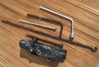 Toyota 4Runner Pickup Jack Tool Kit '89 95 Spare lowering Rod Tools Lug Wrench