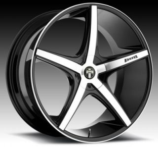 "22"" Dub RIO5 BM for Lexus Wheels and Tires Rims Infiniti LS Is ES GS 350 400"