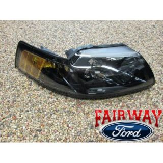 01 02 03 04 Mustang Genuine Ford Parts Pair of 2 Head Lamps Lights New