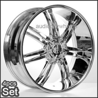 "22"" inch B14 Chrome Wheels for Land Range Rover FX35 Rims"