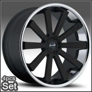 22 inch Giovanna Wheels Rims 300C Magnum Charger Challenger
