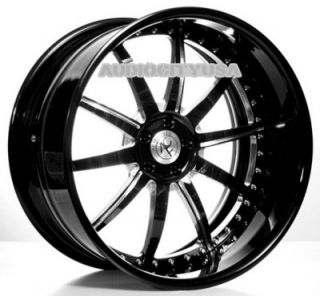 "22"" AC Forged AC320 3pc Wheels and Tires Rims for BMW 3 5 6 7SERIES Mercedes"