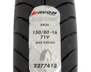 New Rear 150 80 V16 AM26 Roadrider Tire Avon Wheel Rim for Harley Motorcycle