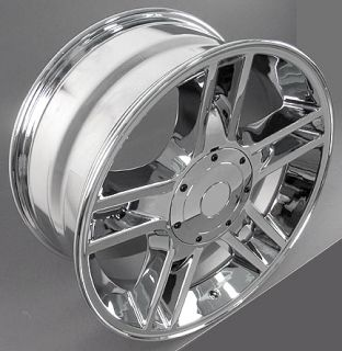 "20"" Rims Fit Ford F150 Harley Wheels Tires Chrome"