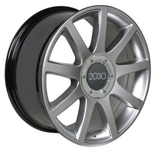 "17"" Rims Fit Audi RS4 Wheels Hyper Silver 17 x 7 5"