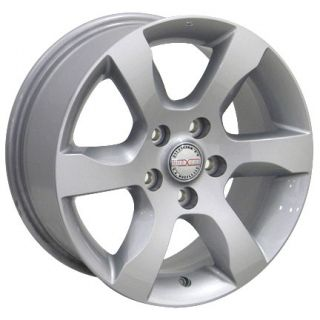 "16"" Rims Nissan Altima 62479 Wheel Silver 16x7"