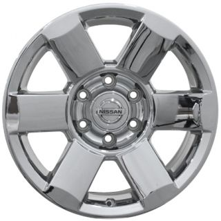 "18"" Chrome Clad Titan Wheels Set of 4 Rims Nissan Armada Infiniti QX56"