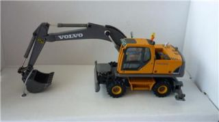New Cararama Diecast EW180 Volvo Excavator Wheel Loader 1 87 Scale Model Boxed