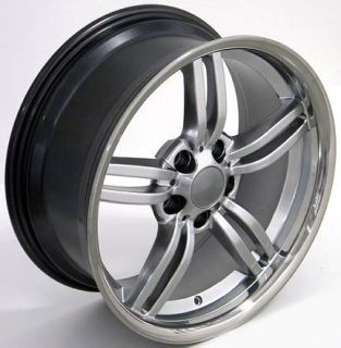 "18"" Hyper Silver 3 Series Wheel 18x8 Rim Fits BMW"