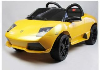 Battery Powered Ride on Toy Car Luxurious Lamborghini Power Wheel