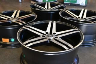 "20"" Verde Parallax Staggered Wheels Rims Dodge Impala Malibu 20x9 20x10"