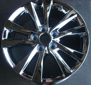 "Set of 17"" Lexus ES350 Chrome 10 11 12 Wheels Rims 74224"