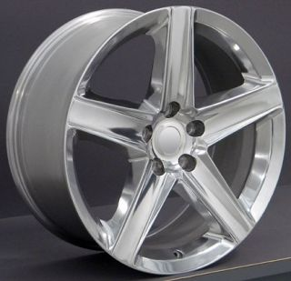 "20"" Grand Cherokee Wheels Polished 20x9 Rim Fits Jeep"