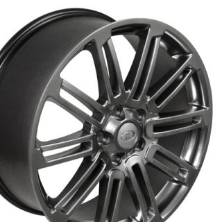 "20"" Fits Land or Range Rover Wheels Set of 4 Hyper Silver Rims"
