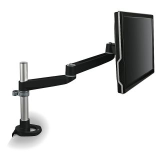 3M MA140MB Dual Swivel Monitor Arm Desk Mount Black