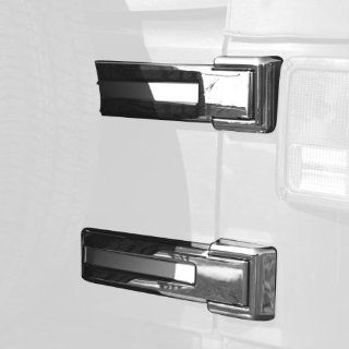 Rugged Ridge 13311.24 Chrome Tailgate Hinge Cover for Jeep Wrangler 2007 2010 Automotive