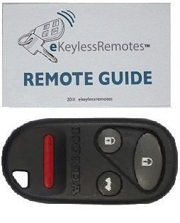2001 2008 Honda Goldwing Keyless Entry Remote Fob Clicker With Do It Yourself Programming and eKeylessRemotes Guide Automotive