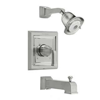 American Standard Town Square Satin Nickel Single handle 3 function Tub and Shower Trim Kit with Less Rough Valve Body American Standard Bathroom Faucets