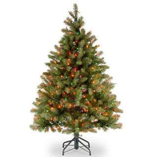 4.5 ft. FEEL REAL® Downswept Douglas Fir Tree with Multicolor Lights