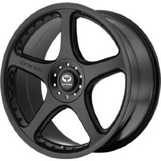 Lorenzo WL028 18x8 Black Wheel / Rim 5x112 & 5x4.5 with a 32mm Offset and a 72.60 Hub Bore. Partnumber WL02888046732 Automotive