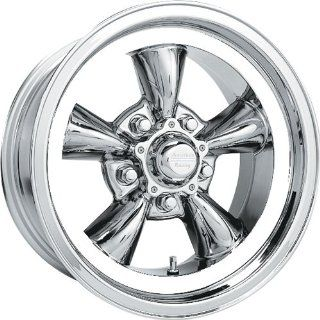 American Racing Vintage Torq Thrust D 15x10 Chrome Wheel / Rim 5x4.75 with a  44mm Offset and a 83.06 Hub Bore. Partnumber VN6055161 Automotive