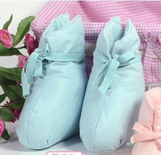 Infants Baby Boy (0 12 Months)Shoes,Made of 100% Cotton with Raw Cotton Stuffing Fill, Super Soft ,Warm and Comfortable , Inner Measures is 6.0cm W x 12.5cm L , Your Number 1 Choice For Baby Soft Barefoot Skin. Baby Infant Gifts Giving. Baby