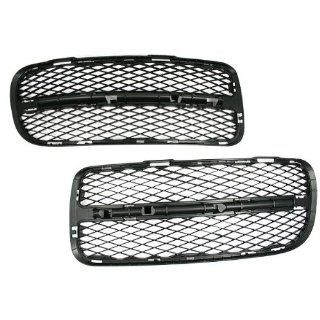Hight Quality Front Side Bumper Air Grille Grill for VW Volkswagen Touareg 03 07 2003 2004 2005 2006 2007 Parts Number 7L6 853 665A & 7L6 853 666A Brand NEW Automotive