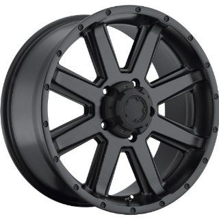 Ultra Crusher 18 Satin Black Wheel / Rim 5x5 with a 0mm Offset and a 78 Hub Bore. Partnumber 195 8173SB Automotive
