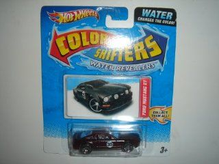 2011 Hot Wheels Color Shifters Water Revealers Ford Mustang GT Dark Red Toys & Games
