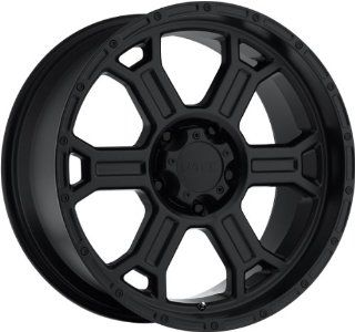 V Tec Raptor 17 Matte Black Wheel / Rim 5x5 with a 25mm Offset and a 78.1 Hub Bore. Partnumber 372 7973MB25 Automotive