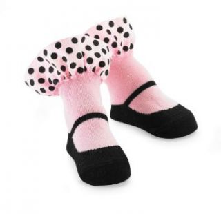 Mud Pie Baby Girls Newborn Ruffle Socks, Pink, 0 12 Months Clothing