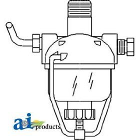 A & I Products Strainer, Fuel Replacement for John Deere Part Number AM3100T
