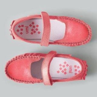 Umi Sorbet Luxe Suede Moccasin Pebbled Rubber Sole Toddler Girls 8 6 Umi Shoes