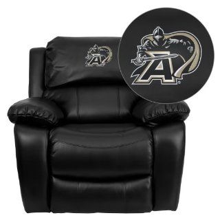 Flash Furniture U.S. Military Academy Black Knights Embroidered Black Leather Rocker Recliner