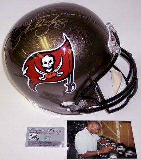 Derrick Brooks Autographed Hand Signed Tampa Bay Bucs Buccaneers Full Size Football Helmet Sports Collectibles