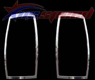 2007 UP Cadillac Escalade EXT Chrome Tail Light Covers 2PC Automotive