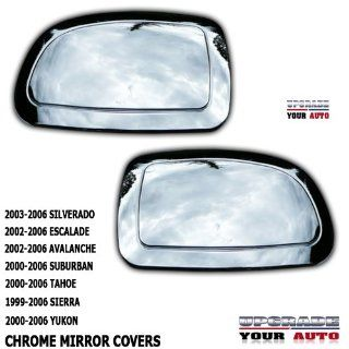 2003 2006 Chevy Silverado Chrome Mirror Cap Covers Automotive