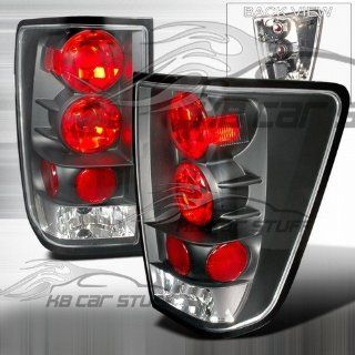 04 06 Nissan Titan Altezza Tail Lights   Black Automotive
