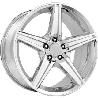 Strada Replicas 115 19 Chrome Wheel / Rim 5x112 with a 38mm Offset and a 66.56 Hub Bore. Partnumber 115C 994438 Automotive